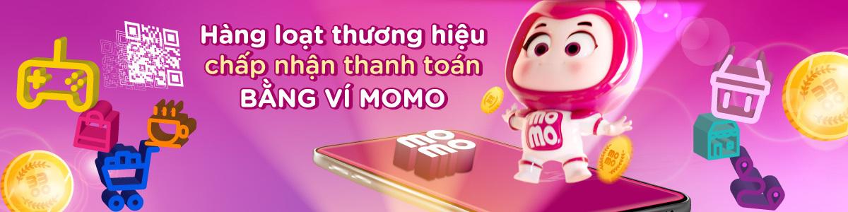 Đối tác thanh toán bằng Ví MoMo