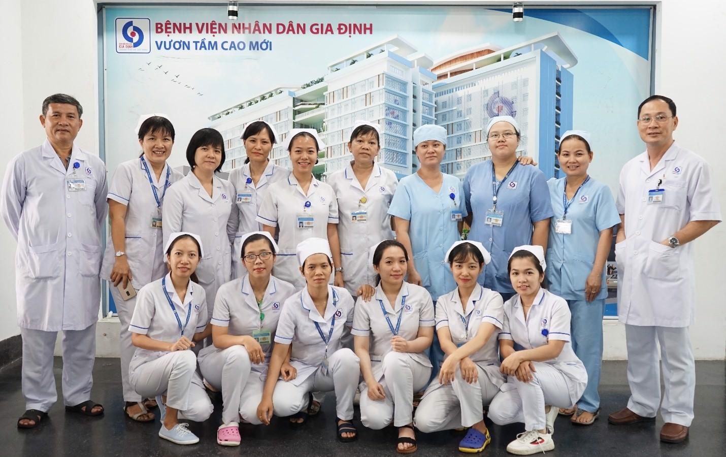Bệnh viện Nhân Dân Gia Định và Ví MoMo