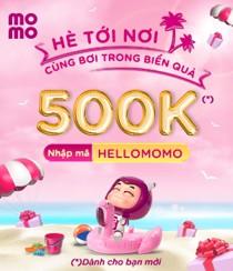 Rinh quà 500K cho khách hàng mới